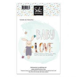 Clear stamps SO'BB Baby love - SOKAI