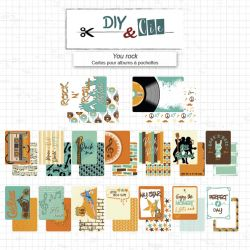 Set de Cartes Project Life : You rock - DIY and Cie