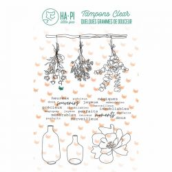 Clear stamps Jolis bouquets  - HA PI Little Fox