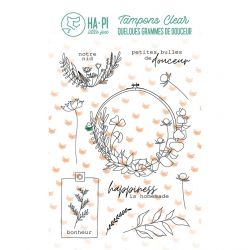 Tampons clear Notre nid - HA PI Little Fox