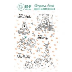 Clear stamps Les rêves d'Hapi - HA PI Little Fox