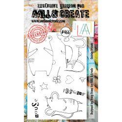 AALL and Create Stamp Set -466