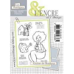 Clear Stamp - Seeds of Happiness - L'Encre et l'Image