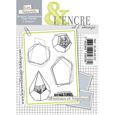 Tampon clear Minéraux et Végétaux - L'Encre et l'Image