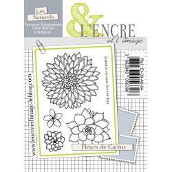 Clear Stamp - Cactus Flowers - L'Encre et l'Image