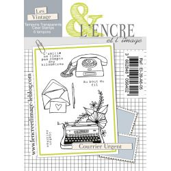Clear Stamp - Priority Mail - L'Encre et l'Image