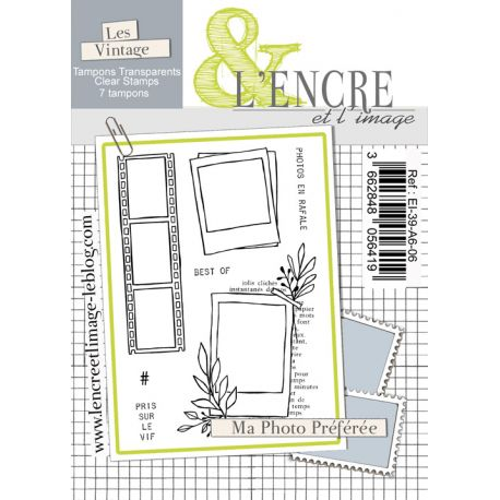 Clear Stamp - Favorite Pictures - L'Encre et l'Image
