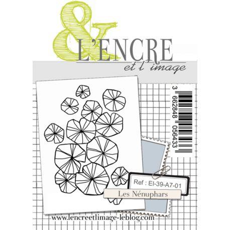 Clear Stamp - Water Lilies - L'Encre et l'Image