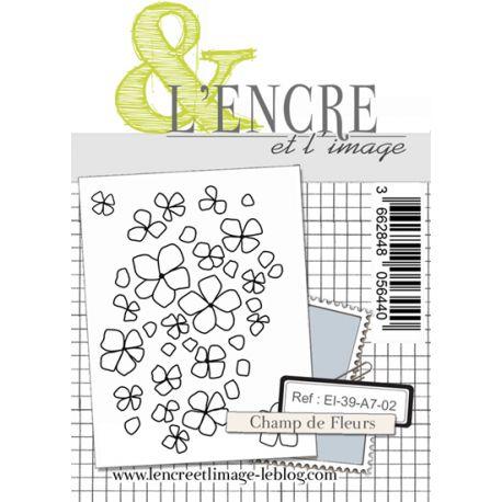 Clear Stamp - Flower Meadow - L'Encre et l'Image