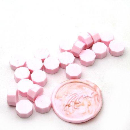 Pastilles de cire Rose layette - DIY and Cie