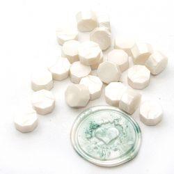 Beads of wax Blanc Nacré - DIY and Cie