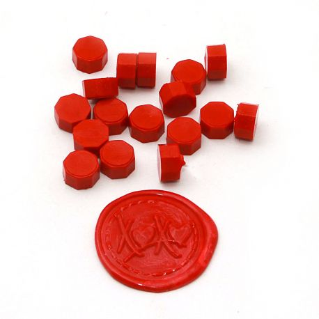 Beads of wax Red - DIY and Cie