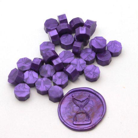 Pastilles de cire Violet - DIY and Cie