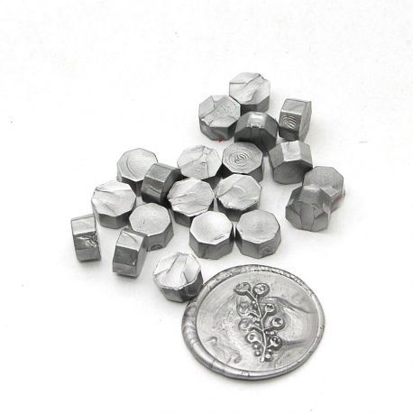 Beads of wax Silver - DIY and Cie