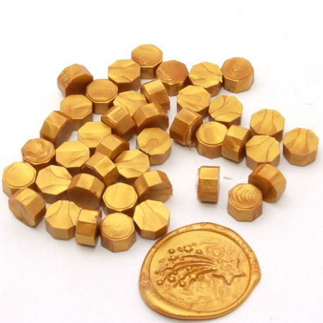 Beads of wax Gold - DIY and Cie