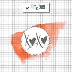 Sceau en laiton XOXO - DIY and Cie