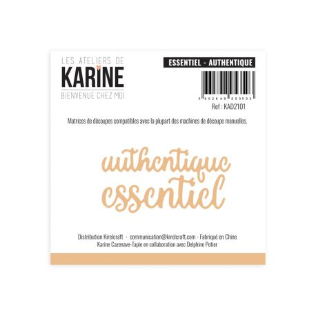 Dies Bienvenue chez moi Essentiel Authentique -Les Ateliers de Karine