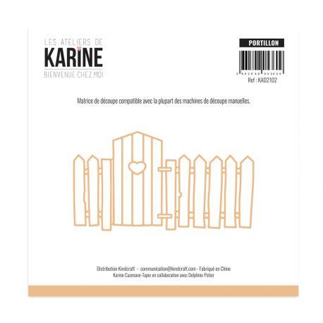 Die  Bienvenue chez moi Portillon -Les Ateliers de Karine