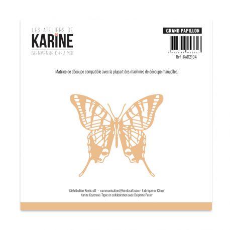Die Bienvenue chez moi Grand papillon -Les Ateliers de Karine