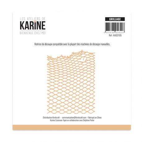 Die Bienvenue chez moi Grillage -Les Ateliers de Karine