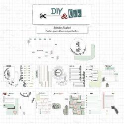 Set de Cartes Project Life Mode Bullet - DIY and Cie