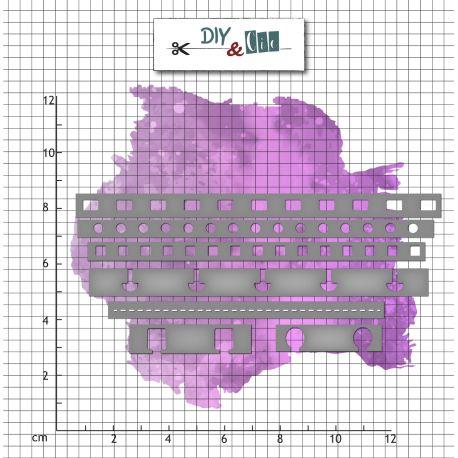 Set de dies Bordures de reliure - DIY and Cie