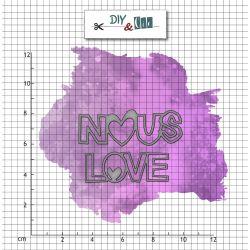 Set de dies NOUS - DIY and cie