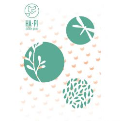 Die set Bulles de nature - HA PI Little Fox