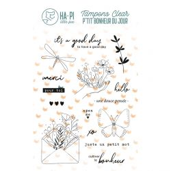 Clear stamps Un petit mot - HA PI Little Fox