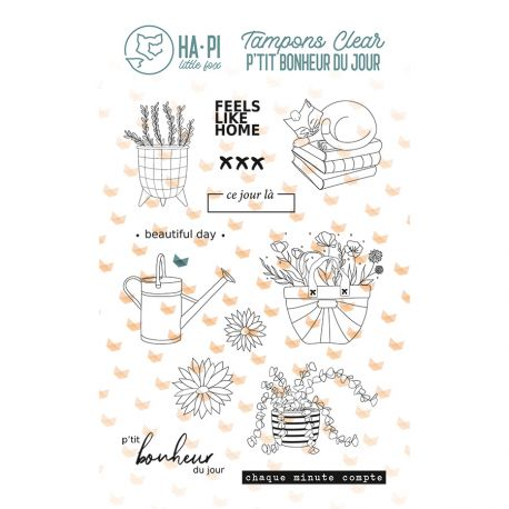 Clear stamps Beautiful day - HA PI Little Fox