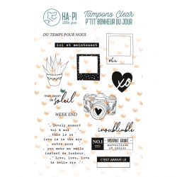 Clear stamps Week end - HA PI Little Fox