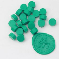 Beads of wax green truquoise - DIY and Cie