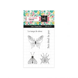 Clear stamps SO'BLOOM 'les insectes' - SOKAI