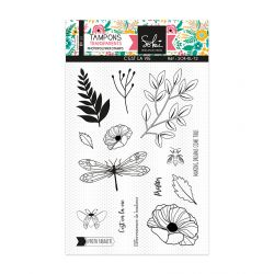 Clear stamps SO'BLOOM 'C'est la vie' - SOKAI