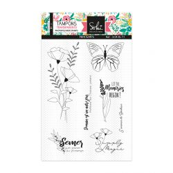 Clear stamps SO'BLOOM 'Printemps' - SOKAI