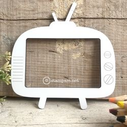 Photo frame 9X13 TV + footer - Stampam