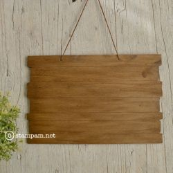 Wooden base to hang - stampam