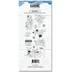Clear Stamp A contre courant Sous l'océan - Les Ateliers de Karine