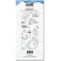 Clear Stamp A contre courant Bord de mer - Les Ateliers de Karine