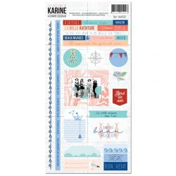 A contre courant -Stickers 15X30