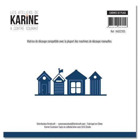 Die  A contre courant Cabines de plage -Les Ateliers de Karine