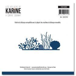 Die A contre courant Fond marin -Les Ateliers de Karine