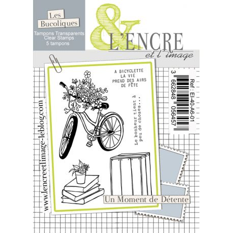 Clear Stamp - Time for a Break - L'Encre et l'Image