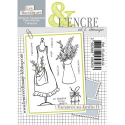 Clear Stamp - An Afternoon in the Garden - L'Encre et l'Image