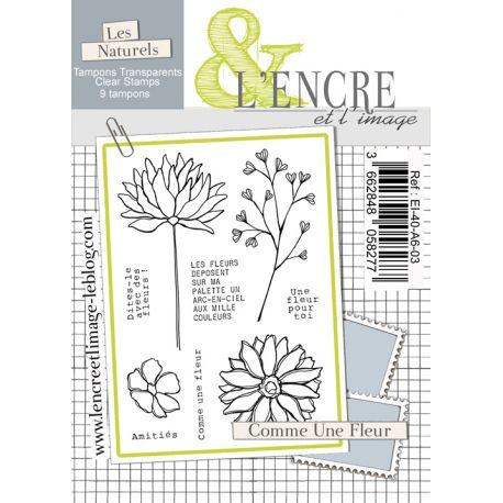 Clear Stamp - Like a Flower - L'Encre et l'Image