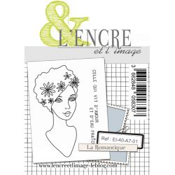 Clear Stamp - The Romantic Girl - L'Encre et l'Image