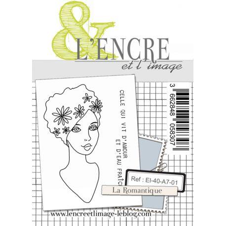 Tampon clear - La Romantique - L'Encre et l'Image