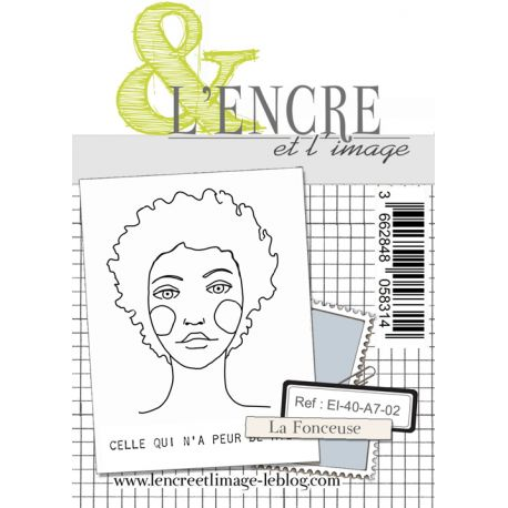 Clear Stamp - The Audacious Girl - L'Encre et l'Image