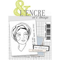Tampon clear - La Curieuse - L'Encre et l'Image