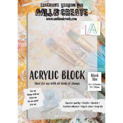 AALL and Create A4 Acrylic Block